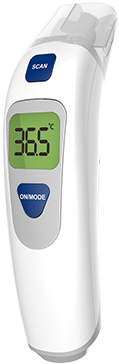 Maybe Mom Electronic Thermometer Transparent